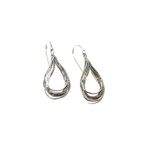 ELIMOR JEWELRY 925 Sterling Silver Earrings - Dangle Earrings for Women - Hook Drop Earrings - Comfort Fit & Hypoallergenic Women Jewelry - Best gift for Girlfriend, Mom, Daughter, Wife & Sister