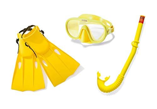 Intex Kinder Schnorchel Taucherbrille Schnorchel Schwimmflossen ab 8 Jahre