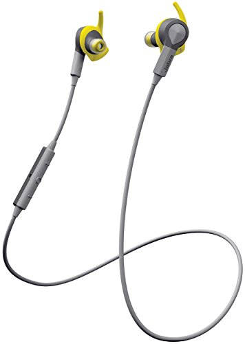 Jabra Sport Coach Wireless In-Ear-Kopfhörer (Stereo-Headset, Bluetooth 4.0, NFC, Freisprechfunktion) gelb