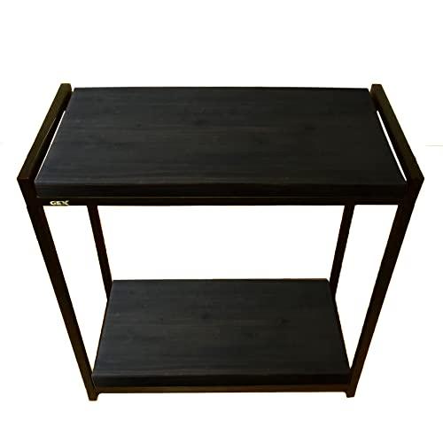 Goldlife 水槽台用木板1枚 台は別売り 【ジェックス スチールスタンド60cm 2段台 組立式水槽台 に対応可能】 塗装済み 奥行き約31cmでジャストサイズ 水槽台ボード ブラック