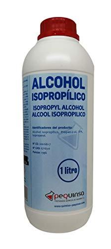 Alcohol Isopropilico. Isopropanol. 99,8%. Envase 1 Litro.