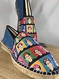 Alpargatas de Yute Elyeli para mujer modelo Frida Khalo (41, Frida Khalo)