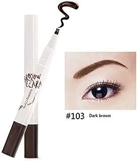 10 Tips Fork Eyebrow Tattoo Pen Ink Waterproof Microblading Ultra-Thin Carving Eye Brow Pencil Enhancer Dye Tint