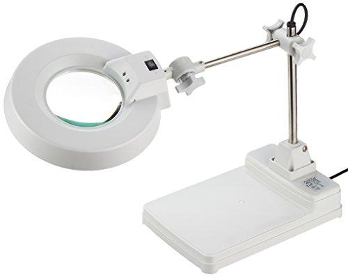 Laron S3105 Neon Magnifier loep lamp loep licht met voet loep licht 22 Watt 8 dioptrieën