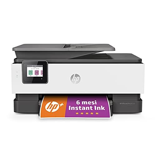 Stampante Multifunzione HP OfficeJet Pro 8022e - 6 mesi di inchiostro inclusi con HP+