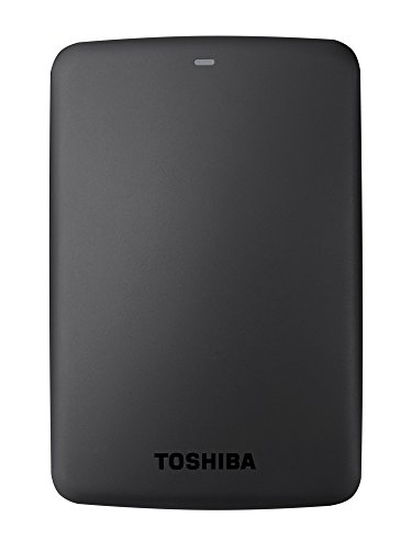 Toshiba Canvio Basics - Disco duro externo, 2.5 pulgadas (6.4 cm), Negro, 3 TB