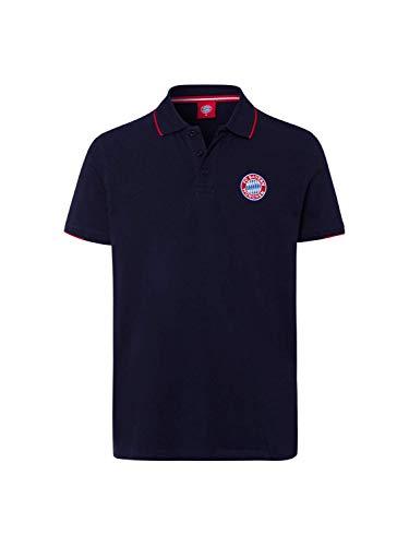 FC Bayern München Poloshirt Classic Navy, L