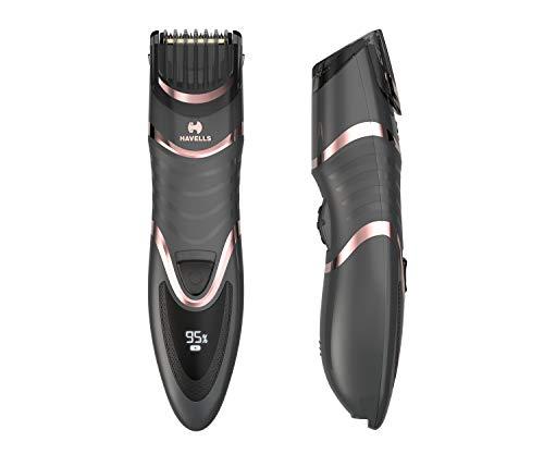 Havells BT9010 Digital Display Beard & Moustache Trimmer,...