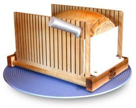 The Bread Pal Bread Slicer, Maple and...