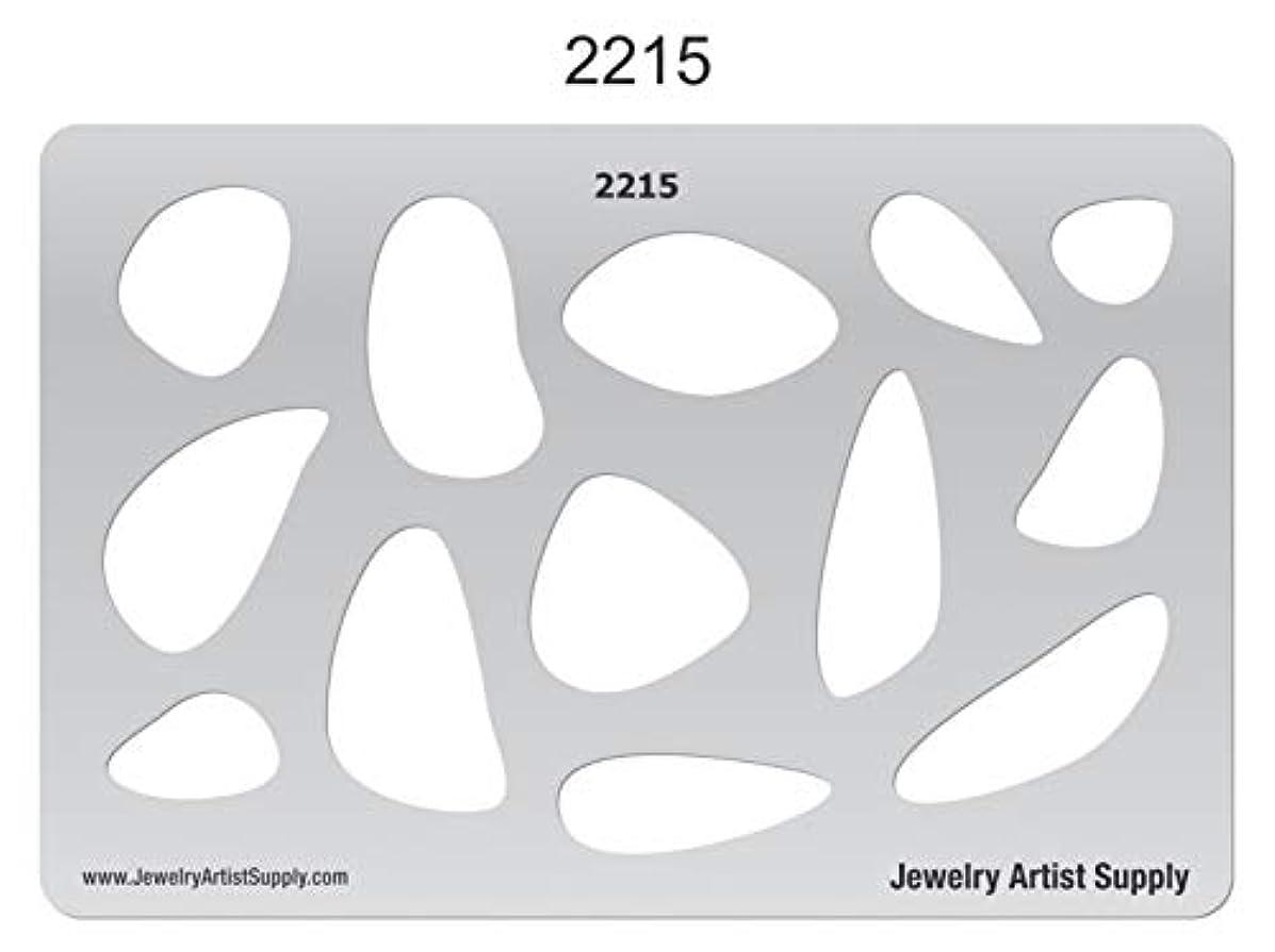 Creative Shapes Template - Organic Shapes #1 2215
