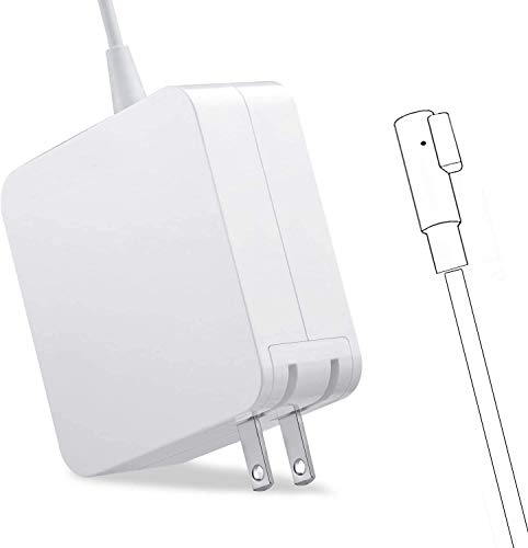 Mac Book Pro Charger, AC 60W L-tip Power Adapter, Replacement for Mac Book Pro 13-inch(Before Mid 2012 Models)