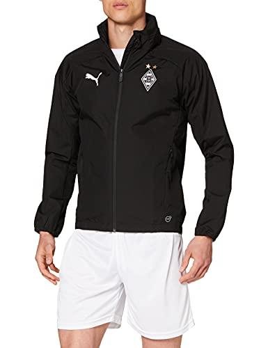 PUMA Herren Rain Jacket BMG Without Sponsor Logo, Puma Black, L, 754099