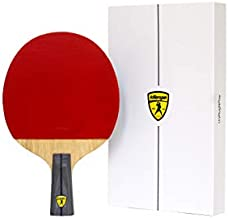Killerspin JET 600 Spin N2 Table Tennis Paddle, Ping Pong Paddle for Intermediate or Advanced Players, red, medium (110-06)