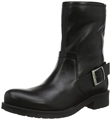 Geox Damen D RAWELLE Ankle Boot, Black, 40 EU
