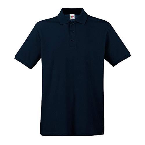 Fruit of the Loom - Premium Poloshirt / Navy, 3XL