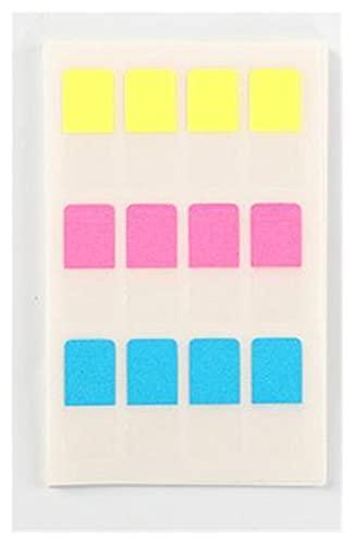 Etiqueta de índice 10 hojas Índices Tabs Memo Pad Etiqueta Etiqueta Etiqueta de escritura File Flags Página Marcadores Etiquetas para Bookmark,Notes,Clasificación conveniente (Color : Small 120pcs)