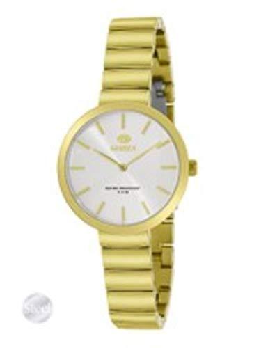 Reloj Marea Mujer de Acero Chapado en Oro .31mm de Caja. B54167/3
