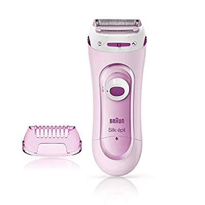 Braun Silk-Epil Lady Shaver 5-100 Pink, Electric Shaver and Trimmer System with 1 Extra from Procter & Gamble