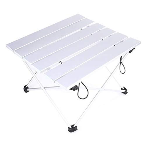 KKCD Chaise Camping Table De Camping Portable Extérieure en Alliage D'aluminium Doré Pliable Table De Pique-Nique Pliable Ultralight Mesa Plegable pour Randonnée (Taille : S)