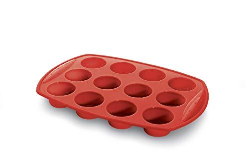 Forma Cupcake Silicone 30cm Haüskraft Forma Cupcake Silicone 30cm Vermelho No Voltagev