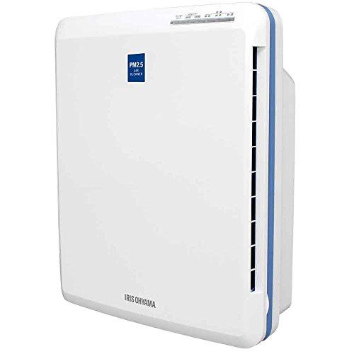 アイリスオーヤマ 空気清浄機 14畳 HEPAフィルター 脱臭 ホコリ 花粉 PM2.5 除去 チャイルドロック付 オフタイマー付 ホワイト PMAC-100