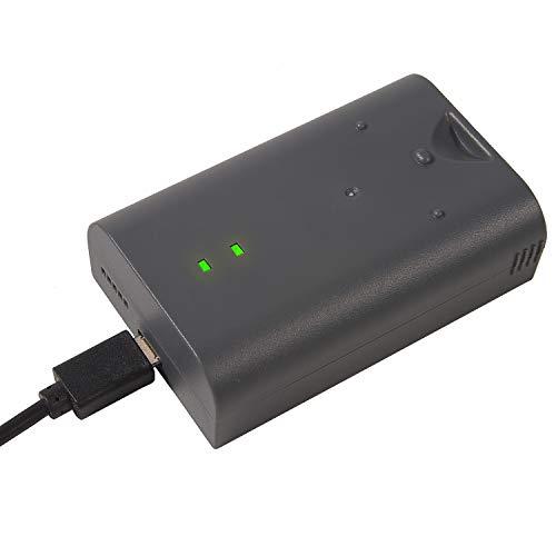 RV4 - Batería recargable y cable de carga compatible con Ring Video Doorbell 2, Doorbell Pro, Doorbell Elite, Ring Peephole Cam, Stick Up Cam, Spotlight Cam