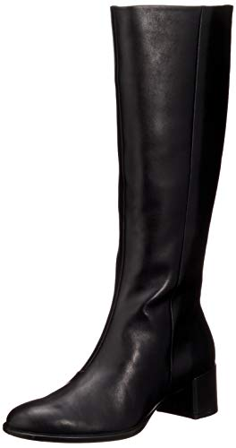 Ecco Damen Shape 35 Block Tall Boot Hohe Stiefel, Schwarz (Black 1001), 39/40 EU