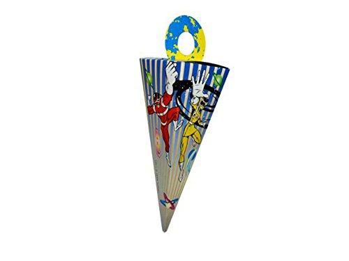 CAPRILO Lote de 60 Cajas de Cartón Power Rangers para Caramelos, Golosinas y Dulces Fiesta. Complementos. Juguetes y Regalos Fiestas de Cumpleaños, Bodas, Bautizos, Comuniones y Eventos.