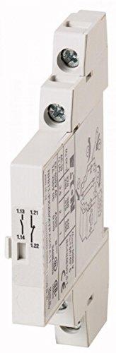 Eaton 072896 Normal-Hilfsschalter, 1 Schließer + 1 Öffner, Schraubanschluss