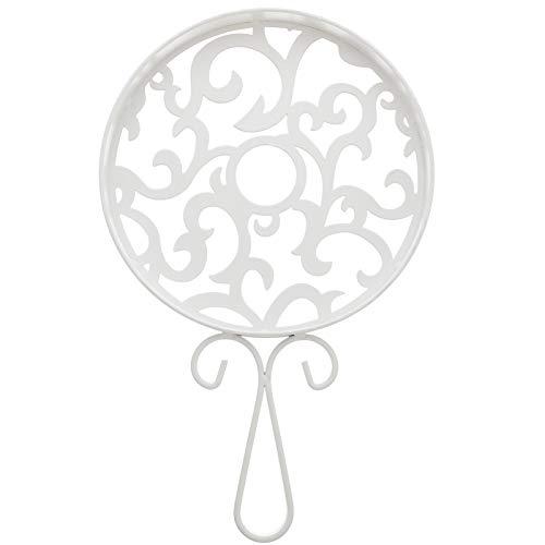 Hemoton Trivet Decorativo de Hierro Fundido Redondo Estera de Trivet Vintage Almohadillas para Soporte de Olla Caliente para Mostrador de Cocina Rústica O Mesa de Comedor