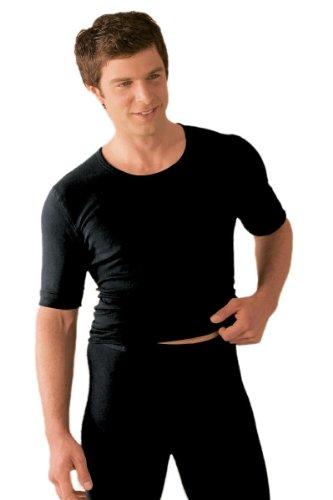 Susa Herren Thermounterwäsche - Oberteile Angora Unterhemd s8010070, Einfarbig, Gr. Medium, weiß (wollweiß s122)