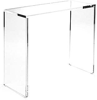 60 acrylic console table