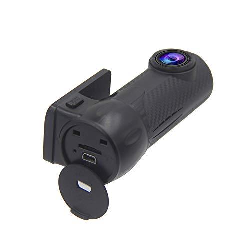 MNBVC CáMara De Coche Wdr con WiFi ,CáMara De Coche GPS 1080p áNgulo Amplio 170° con G-Sensor,Monitor De Estacionamiento,DeteccióN De Movimiento, GrabacióN En Bucle Nocturna GrabacióN De Emergencia