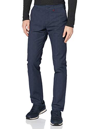 MAC Jeans Herren Lennox Hose, 196K Nautic Blue Check, 34/34