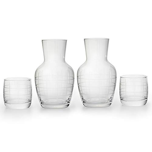 American Atelier Night Carafe (Medallion Checker)