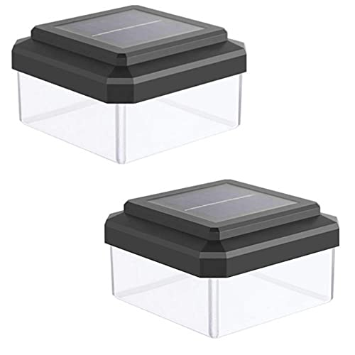 LINGTH 2 lámparas solares de pared para exteriores, con cableado libre, impermeables, para jardín, luz solar decorativa, adecuada para patios y terrazas