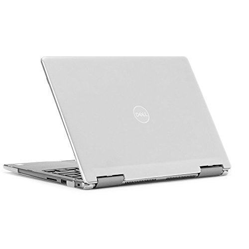 mCover Hard Shell Case for 13.3' Dell Inspiron 13 7375 ( with AMD Ryzen CPU ) 2-in-1 Convertible Laptop Computers ( Dell I13-7375-AMD Clear)