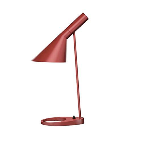 zlw-shop Lámpara Escritorio LED Lámpara de Lectura Luz de Lectura de luz LED Libro Mayor Estudio, a Favor o en dormitorios, Salas de Estar y Oficina Flexo de Escritorio (Color : F)