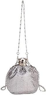 TOOGOO Sequins Shiny Women's Girl Messenger Bag Shoulder Bag Kettle Bag Jug Shape Handbag Black