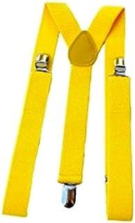 bilAnca® Yellow color suspenders belts stylish for men / kids / boys / women / girls / baby