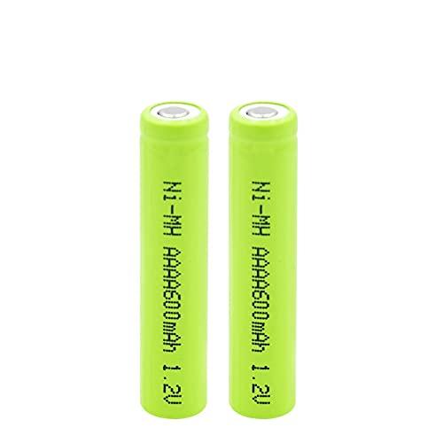 SUGGL 2pcs Lr61 1.2v 600mah AAAA Wiederaufladbare Batterien, für Led-Taschenlampe Wecker Fahrrad Licht Power Bank Radio Spielzeug Fernbedienung Audio-AusrüStung