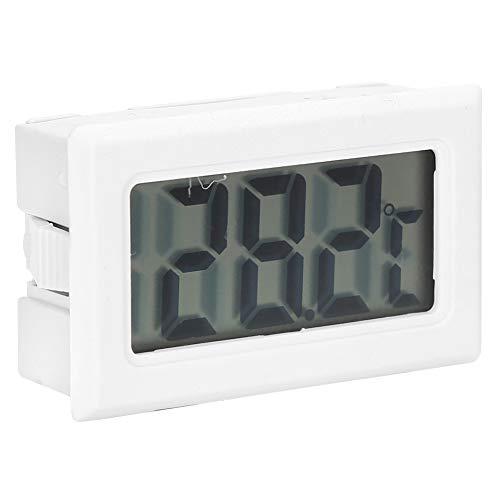 Okuyonic Wassertank-Thermometer, genaues Bienenstock-Thermometer tragbares digitales Aquarium-Überwachungs-Thermometer Aquarium-Thermometer Kunststoff-LCD-Bildschirm für Zigarrenkisten