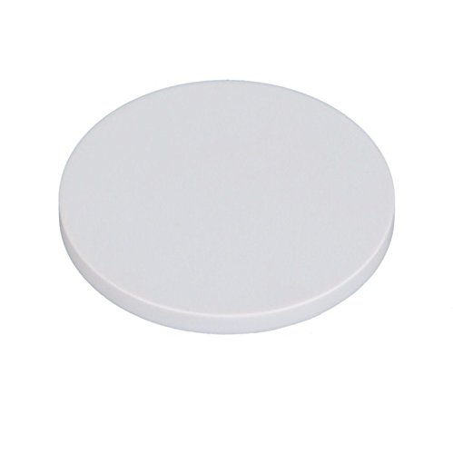 OMAX 50mm (2inches) White Plastic Stage Plate for Stereo Microscopes