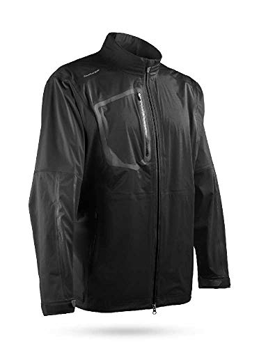 Best Review Of Sun Mountain 2019 Men's Elite Golf Jacket - Black (Small)