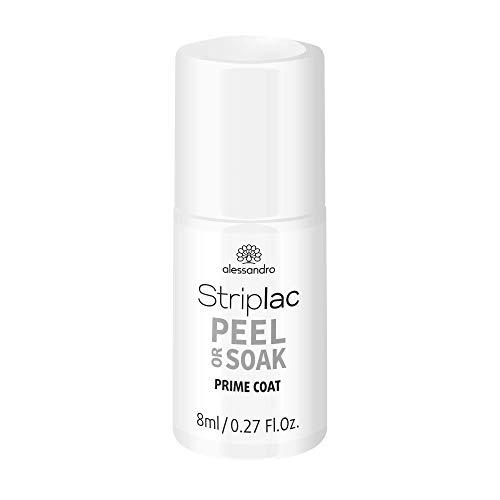 alessandro Striplac Peel or Soak - PRIME COAT - Nagellack zur Vorbereitung für den perfekten Halt von Striplac Peel or Soak - für eine extra lange Haltbarkeit! 8ml