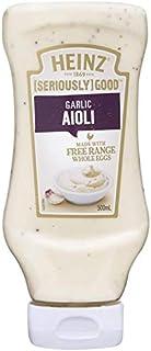 Heinz Seriously Good Aioli Garlic Mayonnaise, 500ml