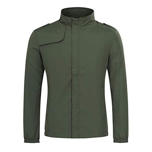 Mens Lightweight Summer Jacket Casual Sports Bomber Jackets Men Outwear
