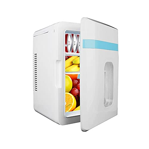 Refrigerador,Mini Nevera Portátil para El Skincare 10L,Nevera para Coche, Camión, Barco Y Autocaravana, 12V/220V,Nevera Portátil De Compresor, para Enfriar Y Calentar