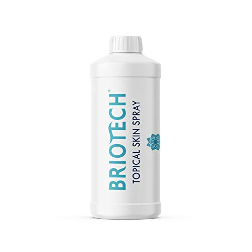 BRIOTECH Topical Skin Spray - All Natural Pure HOCl Piercing Aftercare and Soothing Skin Care Solution | 16 oz. Refill Bottle (Sprayer NOT Included)