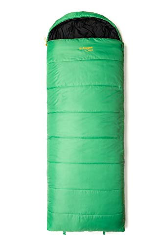 Snugpak Basecamp Nautilus Square Quilt Sleeping Bag with Left Hand Zip, Emerald Green